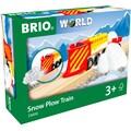 BRIO® Spielzeug-Zug »Schneeräumzug«, FSC® - schützt Wald - weltweit