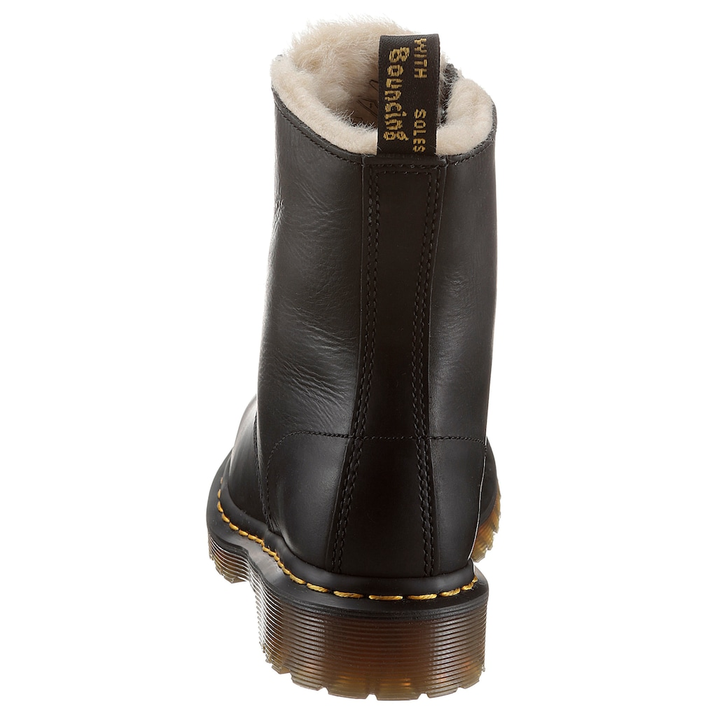 DR. MARTENS Winterstiefel »1460 Serena Fur Lined 8 Eye Boot«, mit kuscheligem Warmfutter