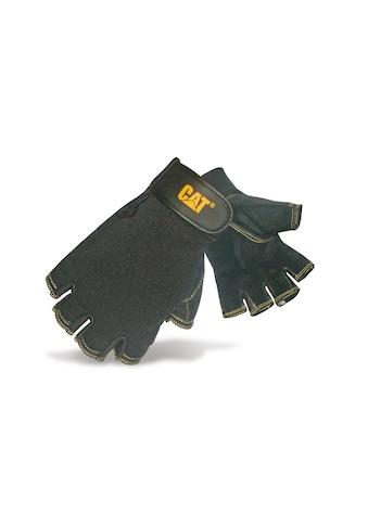 CATERPILLAR Multisporthandschuhe »12202 Herren Halbfinger - Handschuhe, Handinnenfläche aus Schweineleder« kaufen