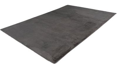 Obsession Fellteppich »My Cha Cha 535«, rechteckig, 18 mm Höhe, Kunstfell, ein echter Kuschelteppich, Wohnzimmer kaufen