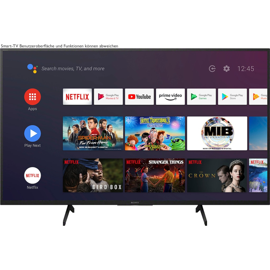 "Sony LED-Fernseher »KD-43XH8096«, 108 cm/43 "", 4K Ultra HD, Android TV-Smart-TV"