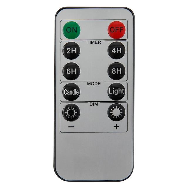 LED-Kerze, (Set, 3-tlg.)