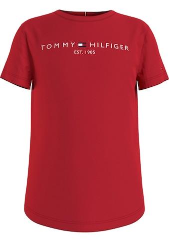 TOMMY HILFIGER T-Shirt, mit typischen Logo-Schriftzug kaufen