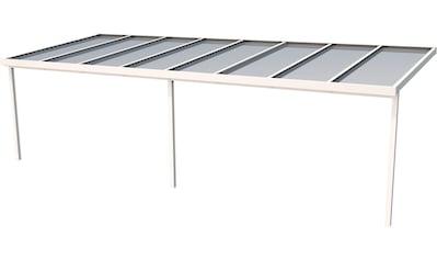 GUTTA Terrassendach »Premium«, BxT: 813x306 cm, Dach Acryl bronce kaufen