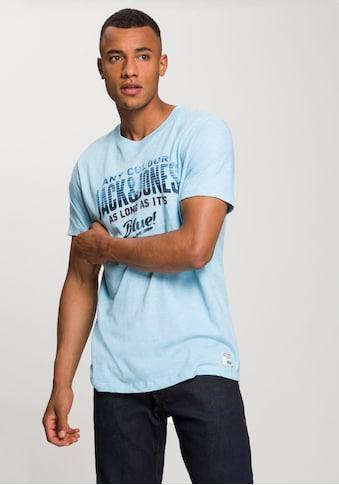 Jack & Jones T - Shirt »JJ30 JONES SLUB TEE SS CREW NECK« kaufen