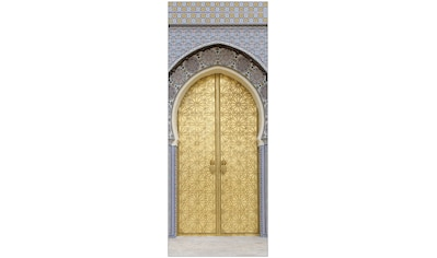 MySpotti Spritzschutz »fresh F1 Ancient Door«, 100 x 255 cm kaufen