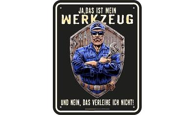 Rahmenlos Blechschild für den Mechaniker und Schrauber kaufen