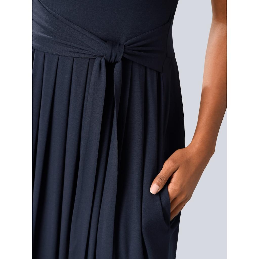 Alba Moda Kleid mit ausgestelltem Rockteil