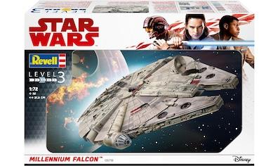 Revell® Modellbausatz »Star Wars™ Millennium Falcon™«, 1:72, Made in Europe kaufen