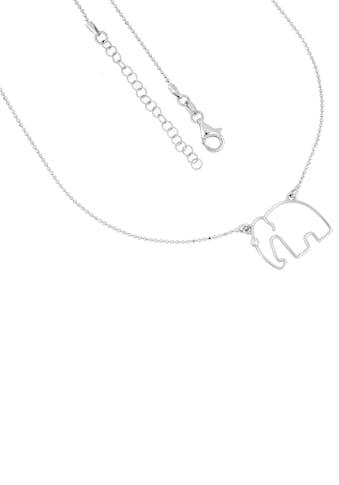 Firetti Kette mit Anhänger »Elefant, rhodiniert, diamantiert« kaufen