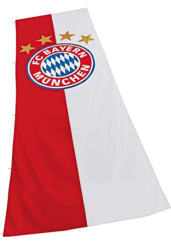 FC Bayern Fahne »FC Bayern München Hissfahne mit Logo« kaufen