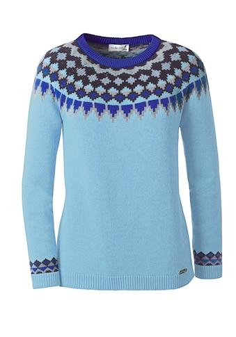 Pullover im typischen Norweger - Muster kaufen