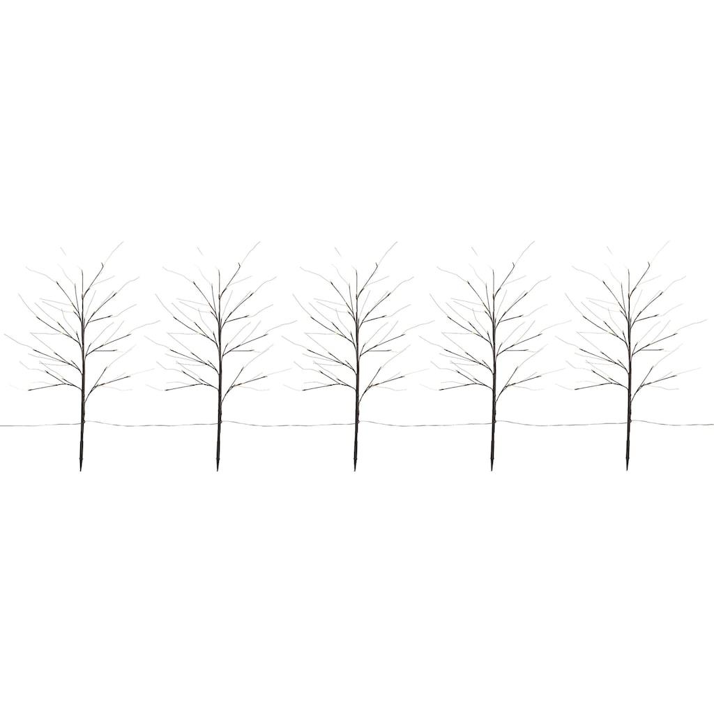 LED Baum, Warmweiß, Inkl. Erdspieß