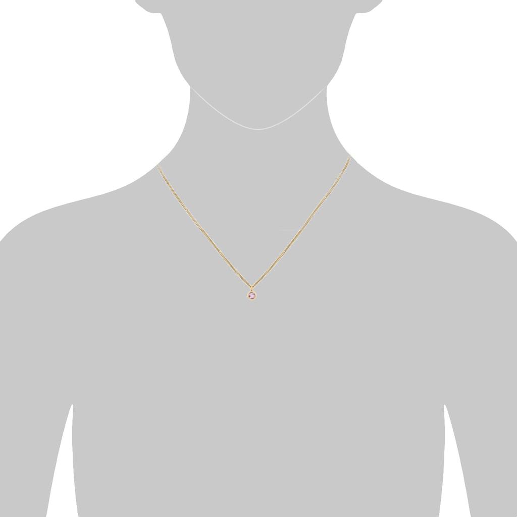 Orolino Kette mit Anhänger »585 Gold Amethyst 5mm«