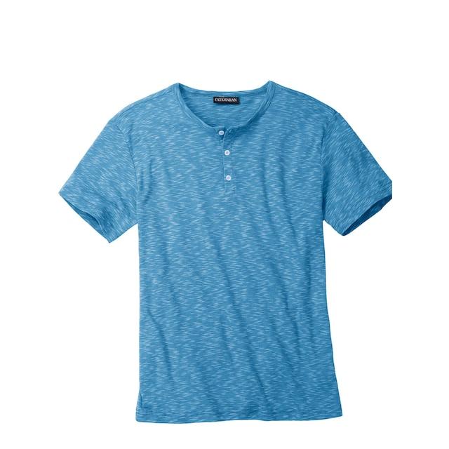 Catamaran Kurzarm-Shirt im Henley-Stil