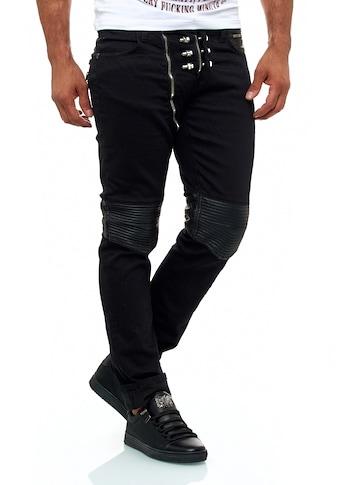 KINGZ Slim-fit-Jeans, mit extravagantem Schrauben-Detail kaufen