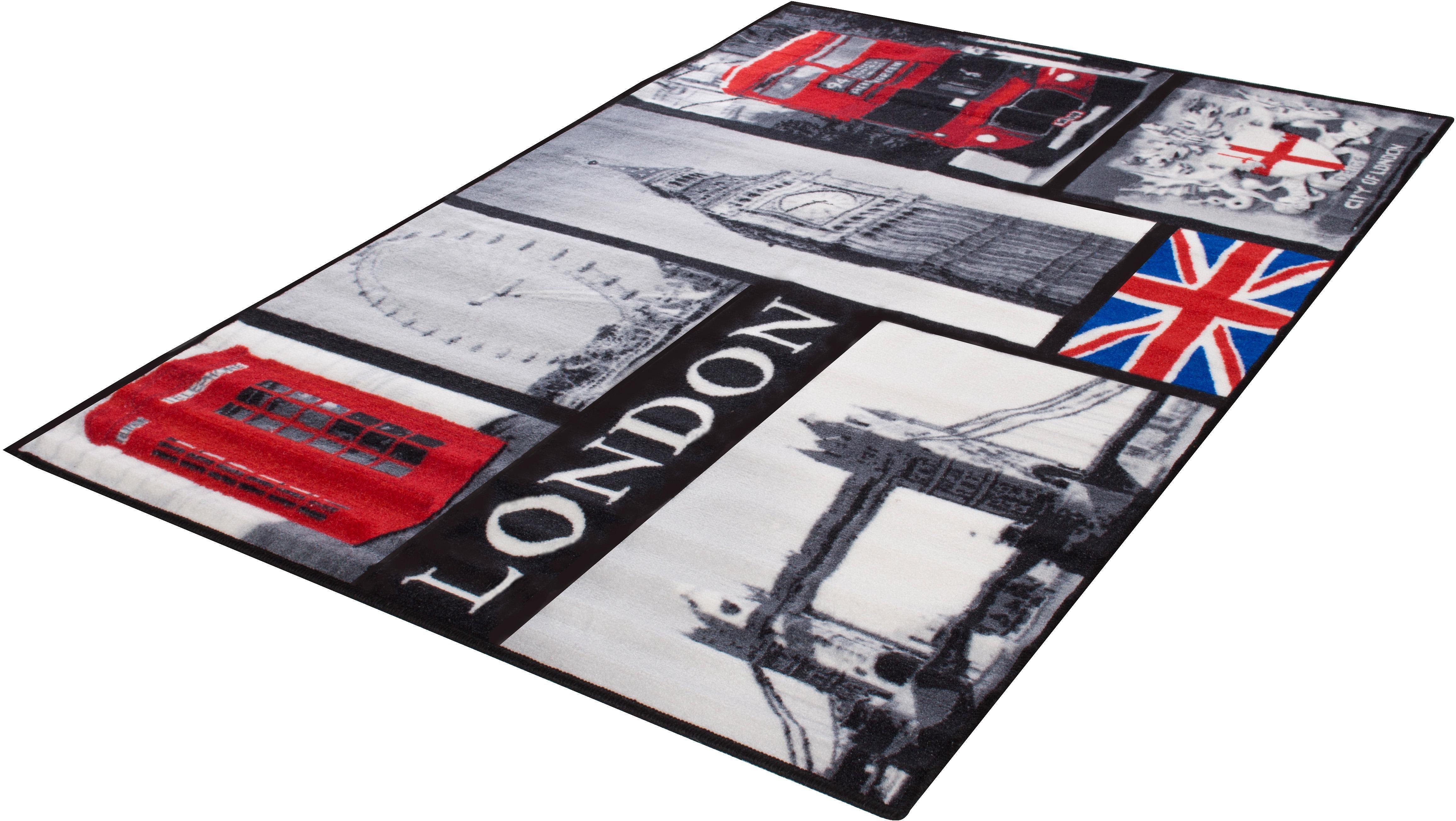 Teppich London Andiamo rechteckig Höhe 5 mm maschinell getuftet