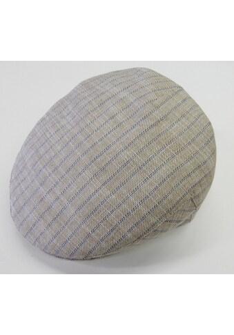 Chaplino Schiebermütze, mit dezenten Streifen kaufen