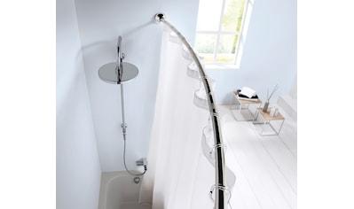 Kleine Wolke Bogenstange »Duschvorhangstange«, kürzbar, für Duschvorhänge, Länge 125-220 cm kaufen