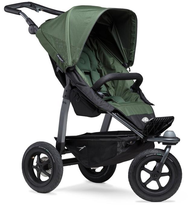tfk Dreirad-Kinderwagen Sportbuggy mono, 34 kg, ; Kinderwagen, Jogger, Dreiradwagen, Jogger-Kinderwagen, Dreiradkinderwagen grün Kinder Kinderwagen Buggies