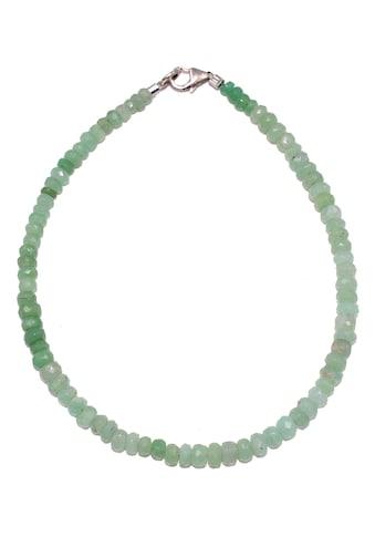 Firetti Armband »Zeitlos, feminin, 3-4 mm breit«, mit Chrysopras, Made in Germany kaufen