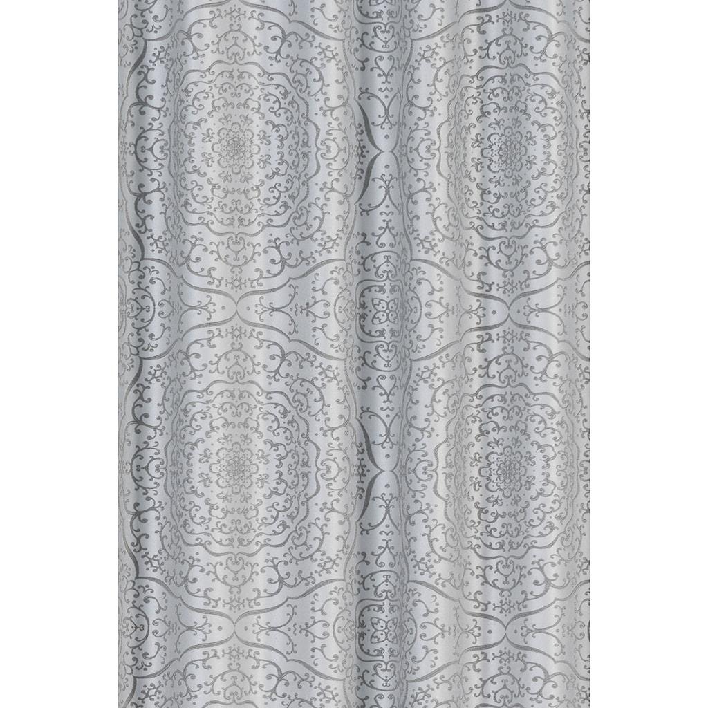 freundin Home Collection Gardine »FD Globetrotter 07«, verdeckte Schlaufen, 255x140 cm