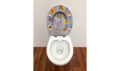ADOB WC - Sitz »Comic«, mit messingverchromten Scharnieren kaufen