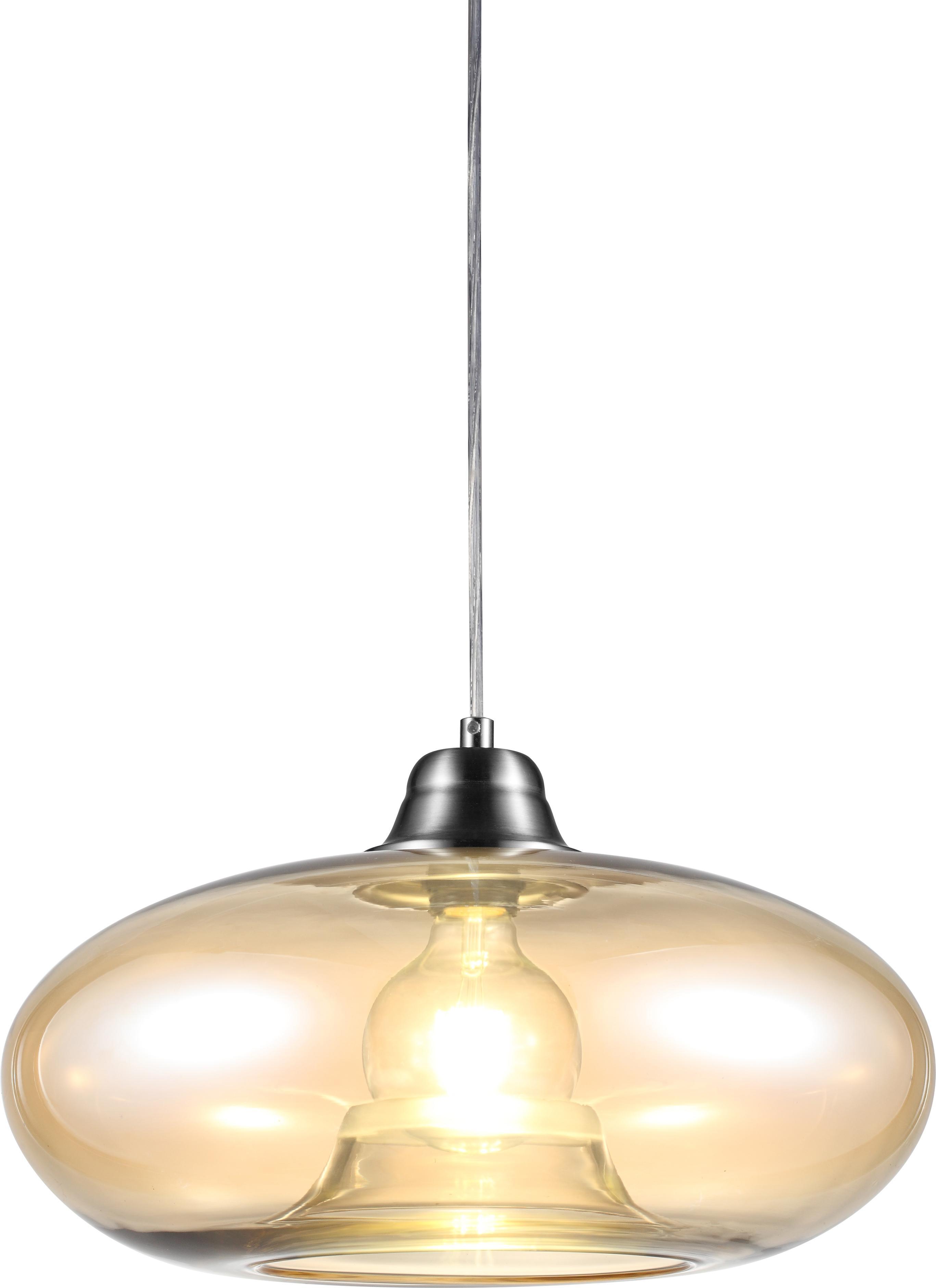 Nino Leuchten LED Pendelleuchte LILLE, E27, Warmweiß, LED Hängelampe, LED Hängeleuchte