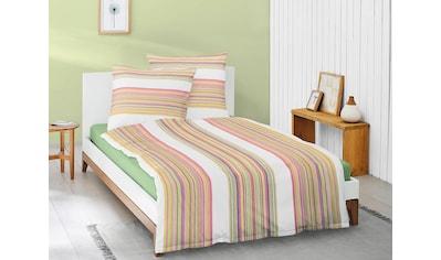 Irisette Bettwäsche »Eos 8096«, mit farbigen Streifen kaufen