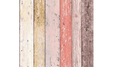 A.S. Création Papiertapete »Natural Style«, Holz, Holzplanken kaufen