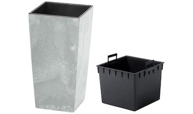 Prosperplast Pflanzkübel »Urbi Square Beton«, BxTxH: 32,5x32,5x61 cm kaufen