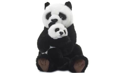 WWF Kuscheltier »Pandamutter mit Baby 28 cm«, zum Teil aus recycelten Material kaufen
