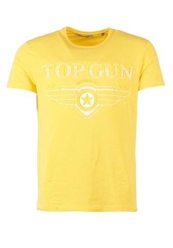 TOP GUN T-Shirt »Bling«, sportlicher Schnitt kaufen