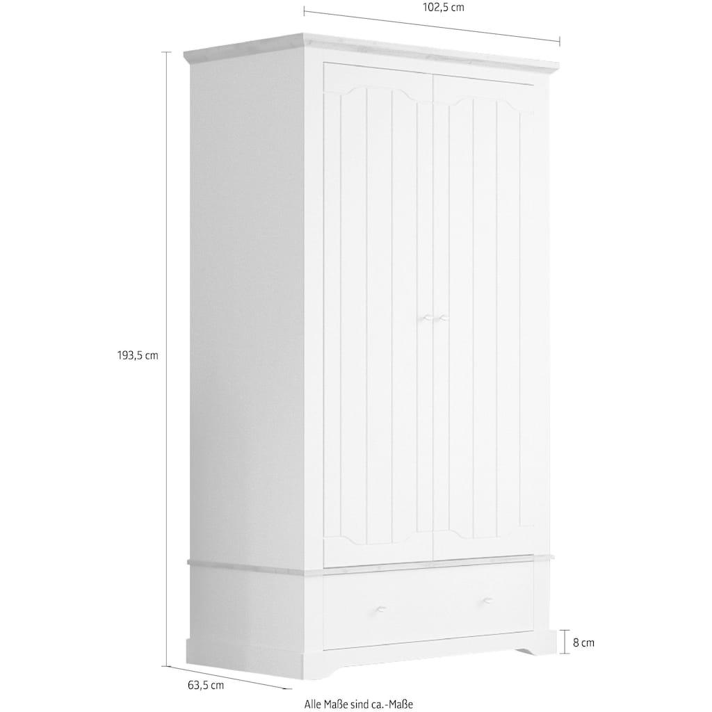 Home affaire Drehtürenschrank »Teverton«, aus FSC®-zertifiziertem Holzwerkstoff