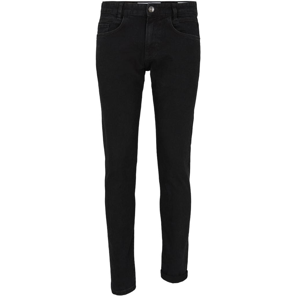 TOM TAILOR Slim-fit-Jeans »TROY«, unifarben
