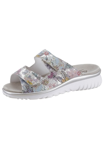 Semler Pantolette »LAURA«, mit sommerlichen Blüten kaufen