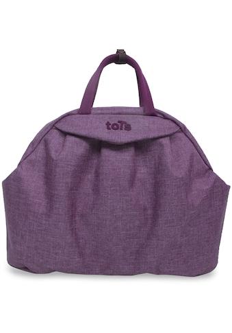 smarTrike® Wickeltasche »toTs Wickeltasche Chic violett meliert«, mit Rucksackfunktion und Wickelunterlage kaufen