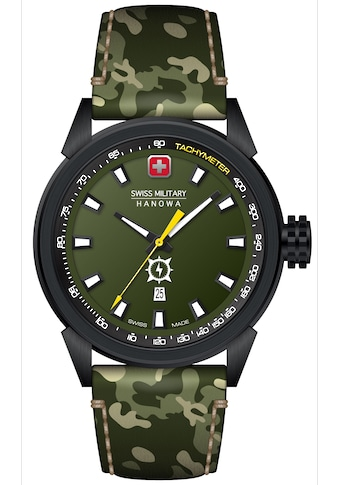 Swiss Military Hanowa Schweizer Uhr »PLATOON NIGHT VISION, SMWGB2100130« kaufen
