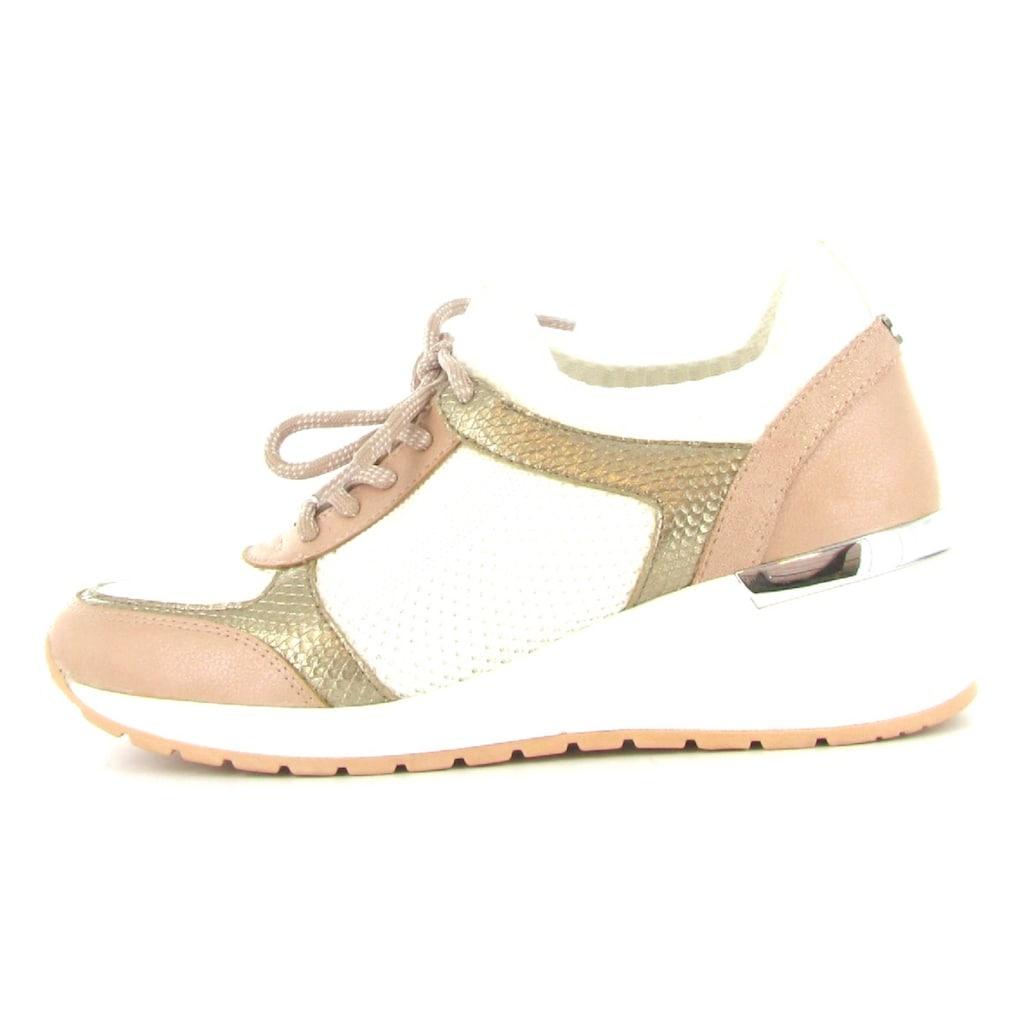 La Strada Slip-On Sneaker »Fashion Sneaker on Wedge«, mit Kontrastbestz