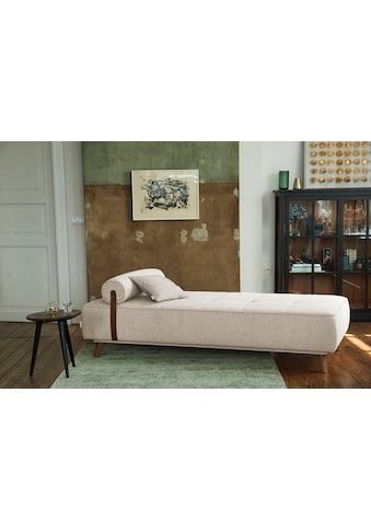 TOM TAILOR Daybett »NORDIC DAYBED CHIC«, inklusive Kissenrolle & Lederband, wahlweise... kaufen
