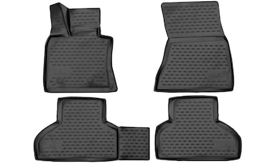 WALSER Passform-Fußmatten »XTR«, BMW, X5, Geländewagen, (4 St., 2 Vordermatten, 2... kaufen
