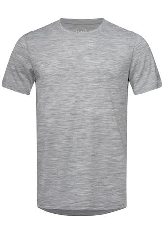 SUPER.NATURAL T-Shirt »M BASE TEE 175«, geruchshemmender Merino-Materialmix kaufen