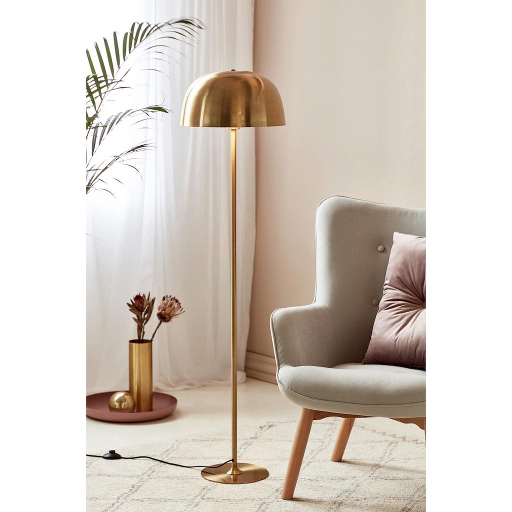 Nordlux Stehlampe »CERA«, E27, Messing Design, textil Kabel