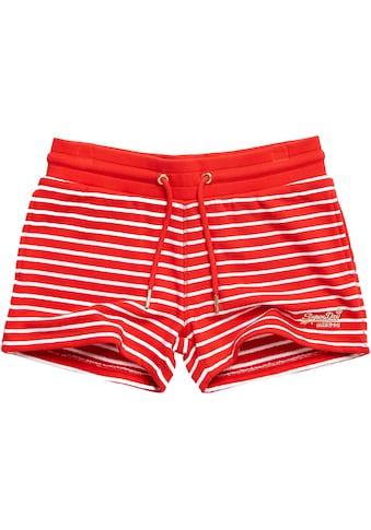 Superdry Shorts »ORANGE LABEL CLASSIC SHORT«, in modischem Ringelmuster kaufen