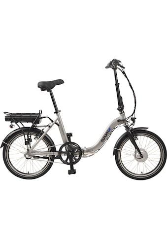 SAXXX E - Bike »Foldi Plus«, 3 Gang Shimano Nexus Schaltwerk, Nabenschaltung, Frontmotor 250 W kaufen