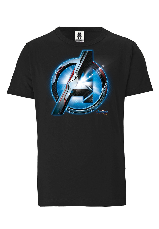 logoshirt -  T-Shirt mit Avengers-Logo