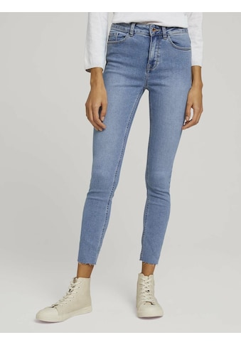 TOM TAILOR mine to five Skinny-fit-Jeans »Kate Skinny Jeans mit Fransen« kaufen