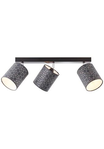 Brilliant Leuchten Deckenleuchten, E27, Galance Spotbalken 3flg schwarz kaufen