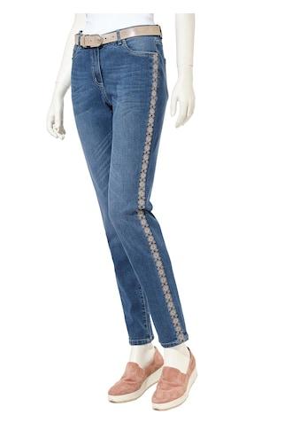 Inspirationen Jeans mit modischen Stickereien kaufen