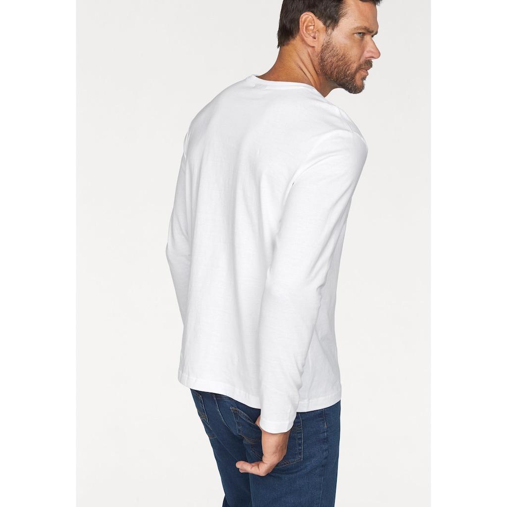 Man's World Langarmshirt